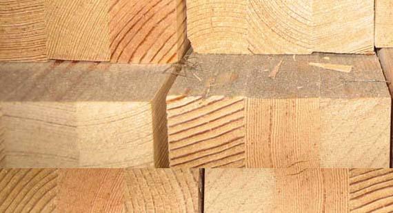 Hurford Bois - Carrelet lamellé-collé pour fenêtres