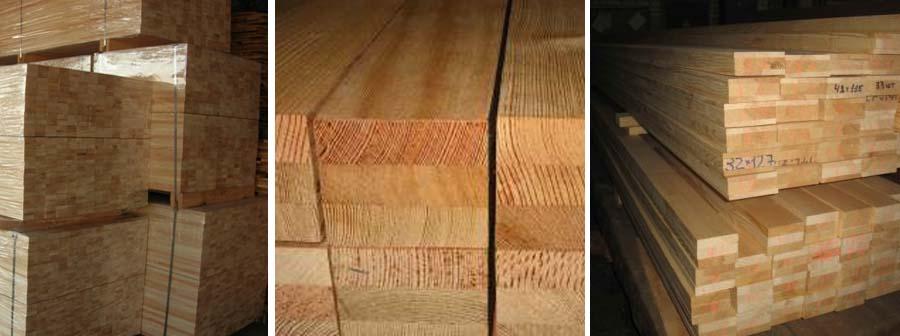 Hurford Bois - Carrelet lamellé-collé en Mélèze de Sibérie ou Pin sylvestre