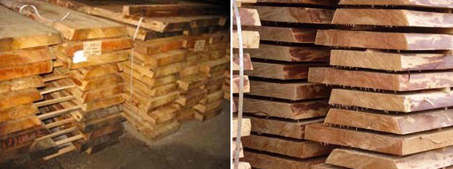 Hurford Bois - Plots dépareillés pour menuiserie en Mélèze de Sibérie